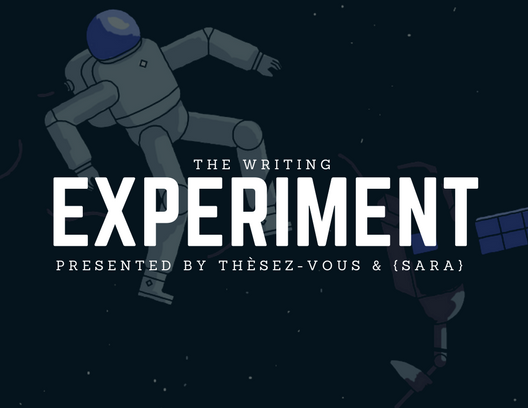 Writing Experiment banner